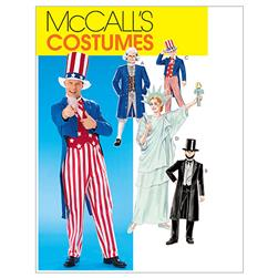 McCall's Adults'/Boys'/Girls' Costumes Pattern M6143 Size LRG