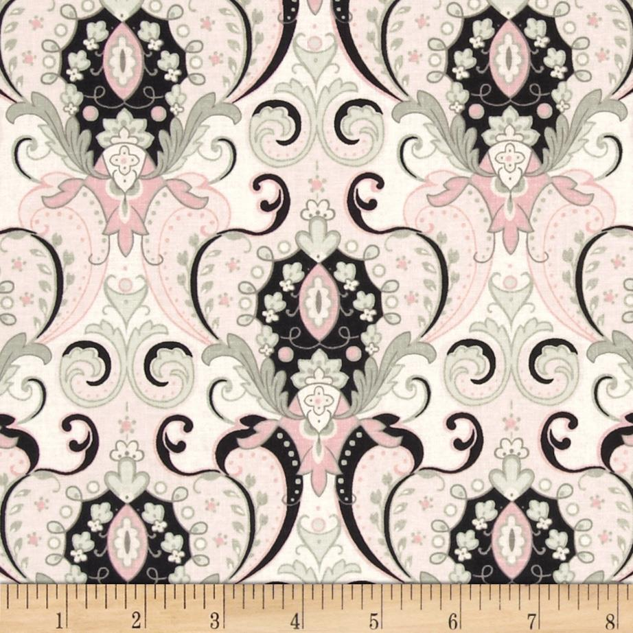 Anna Griffin Arabesque Ballerina Damask White
