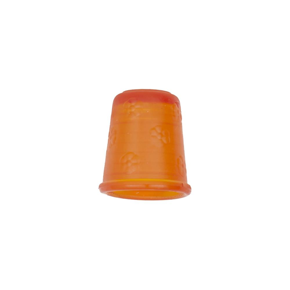 "Dill Rubberized Thimble 11/16"" Orange"