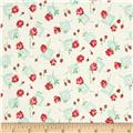 Verna Mosquera Sugar Bloom Gingham Garden Coconut