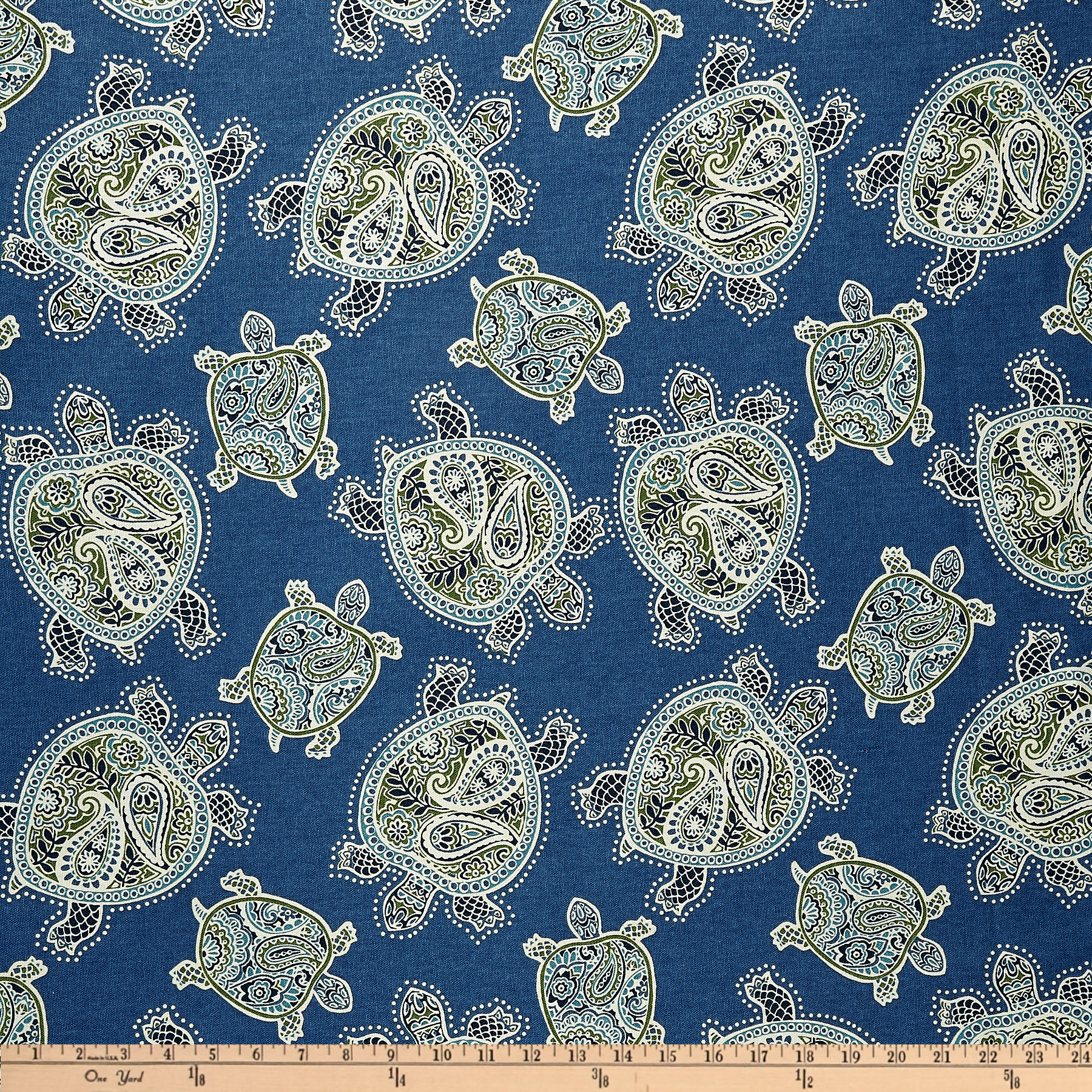 Tommy Bahama Home Tranquil Turtles Peninsula Fabric