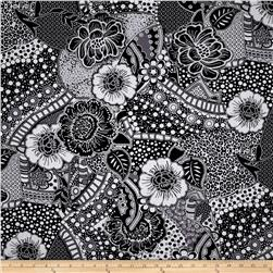 Black Tie Affair Floral Black/Grey