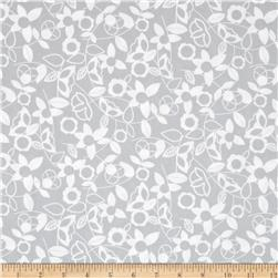 Modern Mixers Floral Gray