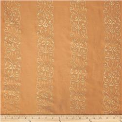 World Wide Alexis Embroidered Taffeta Salmon