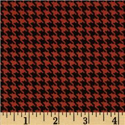 Mountain Majesty Houndstooth Rust