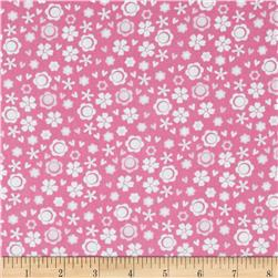 Itty Bitty Ditsy Floral Pink