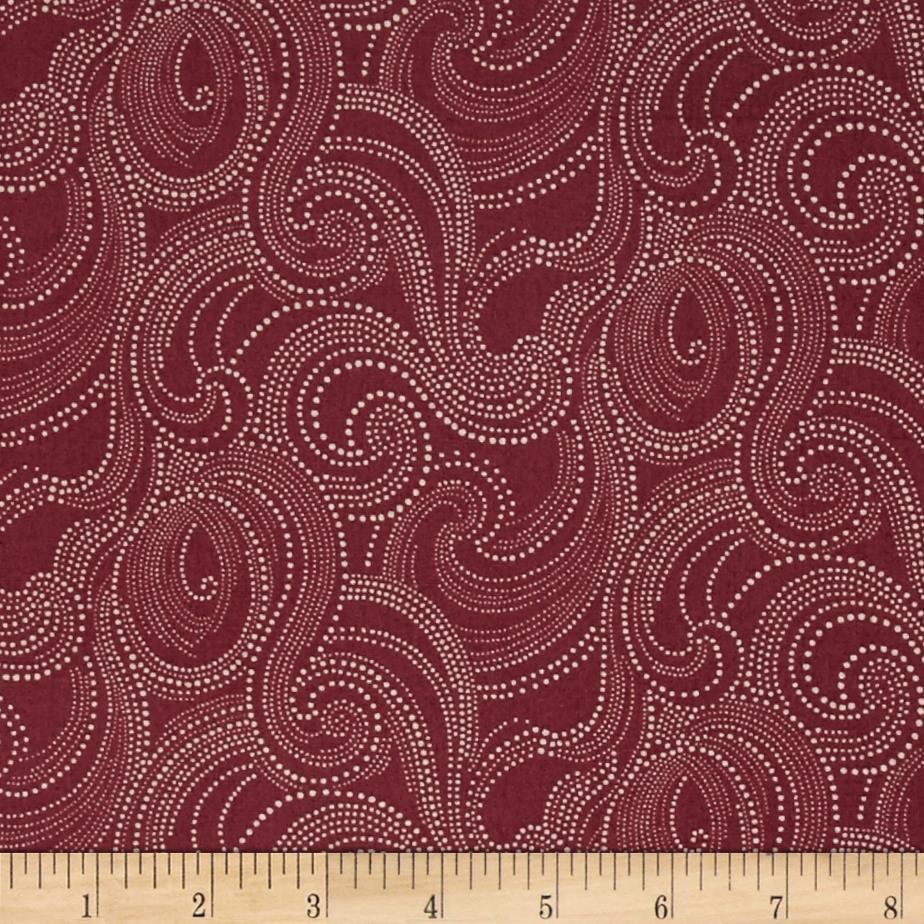 Imperial Dotted Scroll Plum