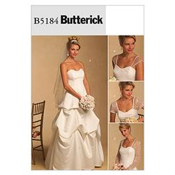 Butterick Misses' /Misses' Petite Dress and Detachable Sleeves Pattern B5184 Size BB0