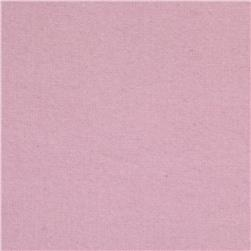 Cuddle Me Solids Flannel Pink Fabric