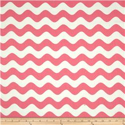Riley Blake Home Decor Wave Hot Pink Fabric