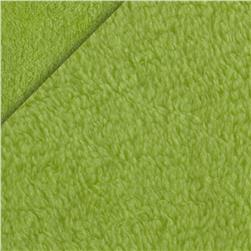 Double-Sided Minky Fleece Lime