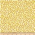 Quilting Treasures Monster Mash Dots Yellow