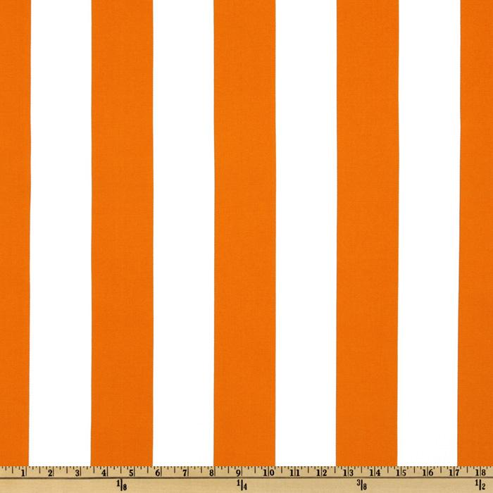 Swavelle/Mill Creek Indoor/Outdoor Finnigan Stripe Mandarin