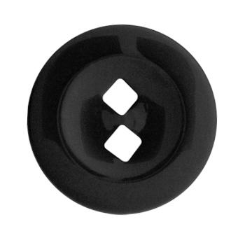Fashion Button 1 1/4'' On Point Black