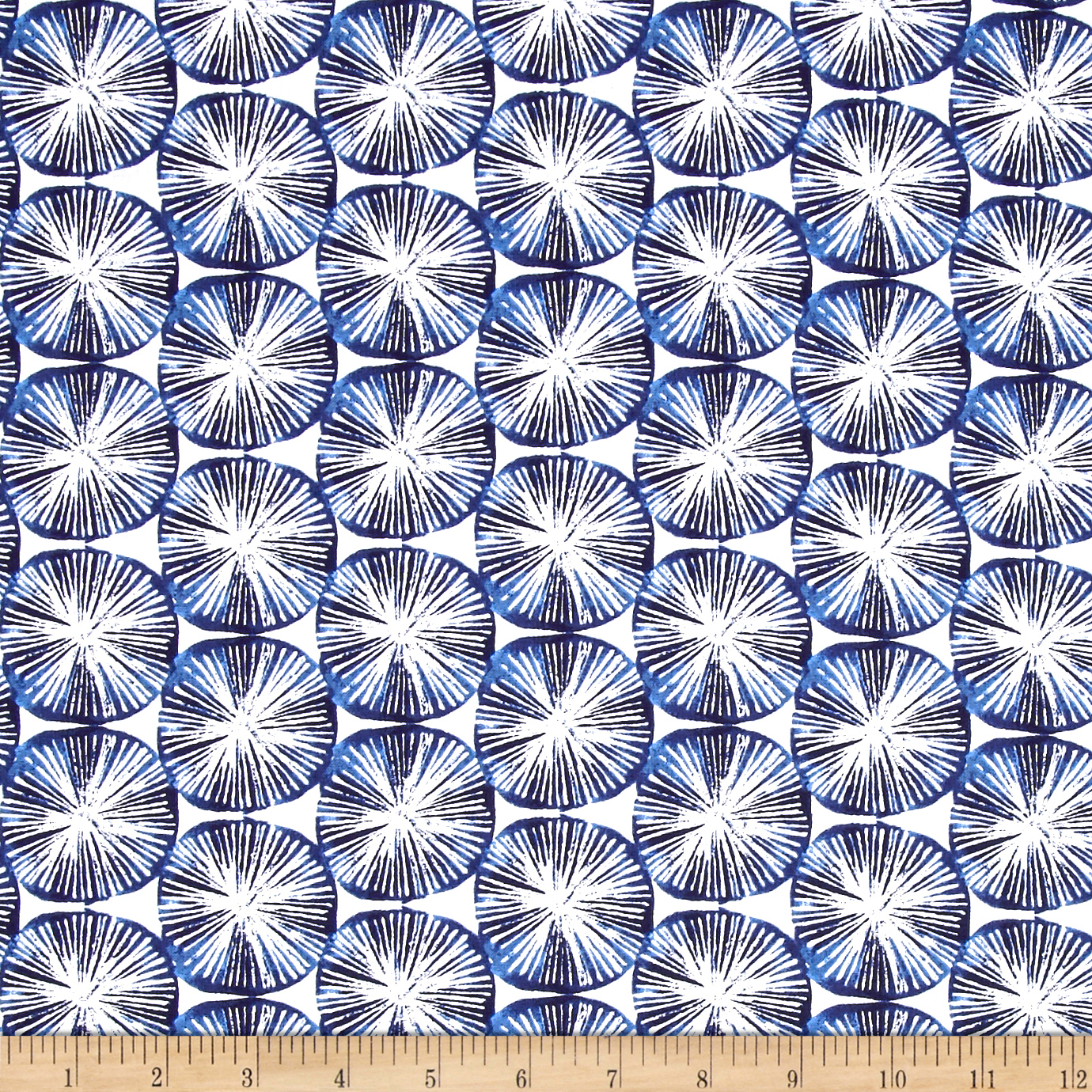 Aria Spin Navy Fabric by Windham in USA