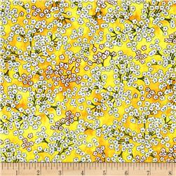 Somerset Babies Breath Buttercup Fabric