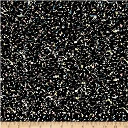 Liberty of London Dufour Jersey Knit Dot Galaxy Black
