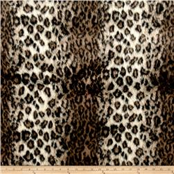 Michael Miller Wild Leopard Fur Brown