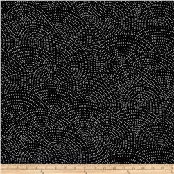 Moda Thicket Swirls Black/White
