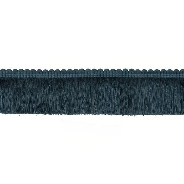 "Duralee 2 1/4"" Brush Fringe Lake Blue"