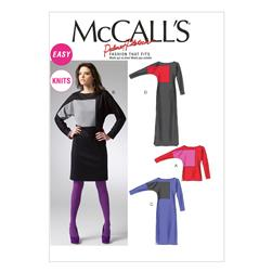McCall's Misses' Top and Dress Pattern M6792 Size B50