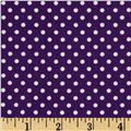 Moda Dottie Small Dots Purple