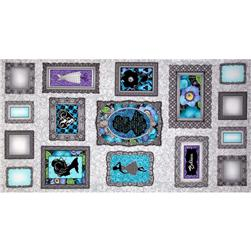 Vogue Frame Panel Teal