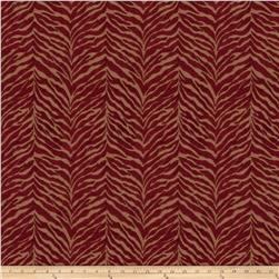 Fabricut Perch Chenille Crimson