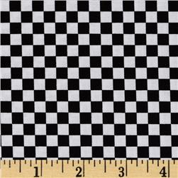 Loralie Sew Creative Checker Board Black/White