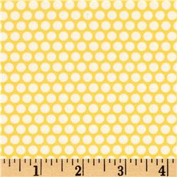 Moda Basics Bliss Dot Happy Go Lucky Yellow