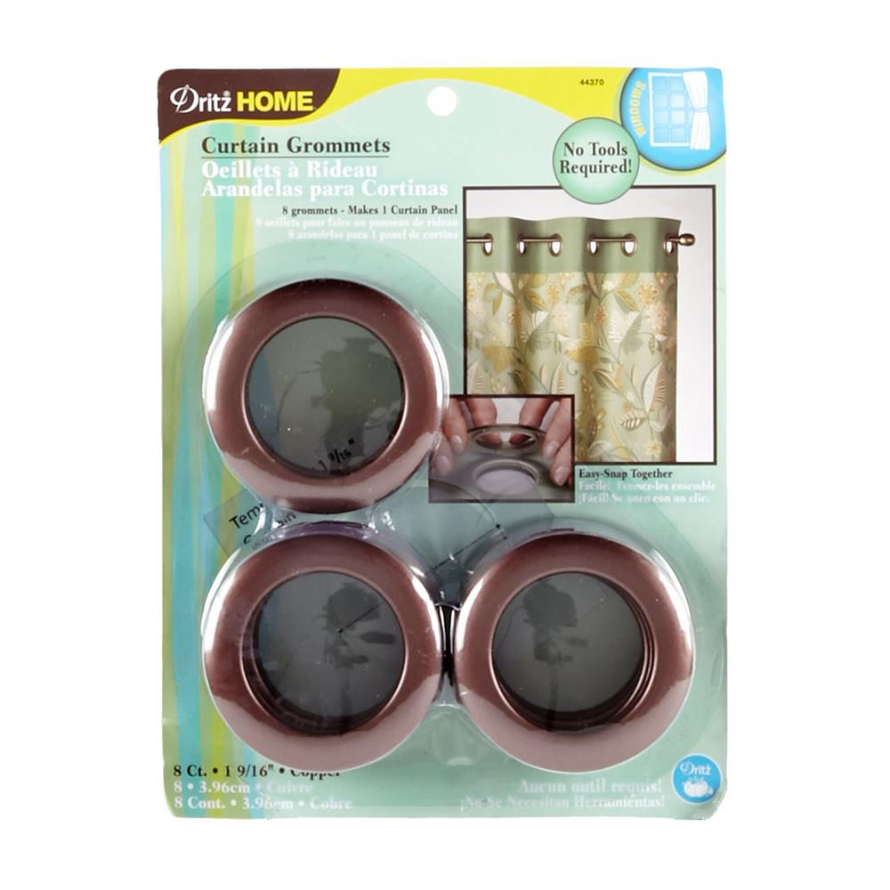 "Curtain Grommets 1-9/16"" Copper"