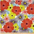Surf N' Sand Tropicals Bright Floral Citrus