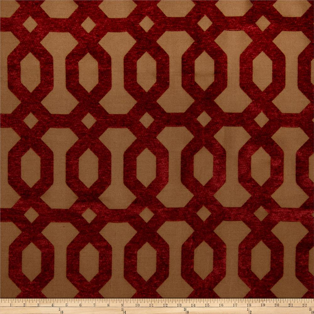 Jaclyn Smith 2103 Chenille Berry
