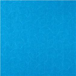 Lola Textures Turquoise Blue Fabric