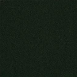 Wool Blend Melton Dark Green Fabric