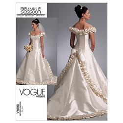 Vogue Misses' Dress Pattern V1095 Size 0A0