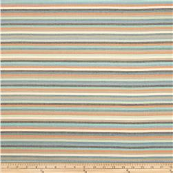 Dwell Studio Sunbrella Striped Affair Turquoise