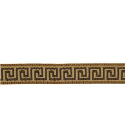 "Fabricut 1"" Anton Trim Chocolate"