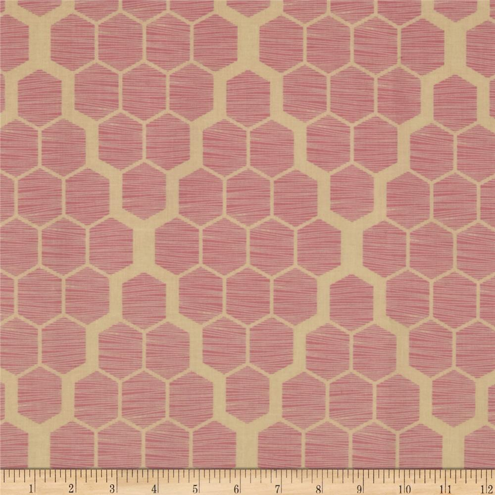 Joel Dewberry Bungalow Hive Pink