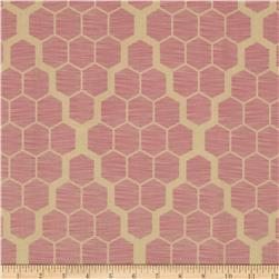 Joel Dewberry Bungalow Hive Pink Fabric