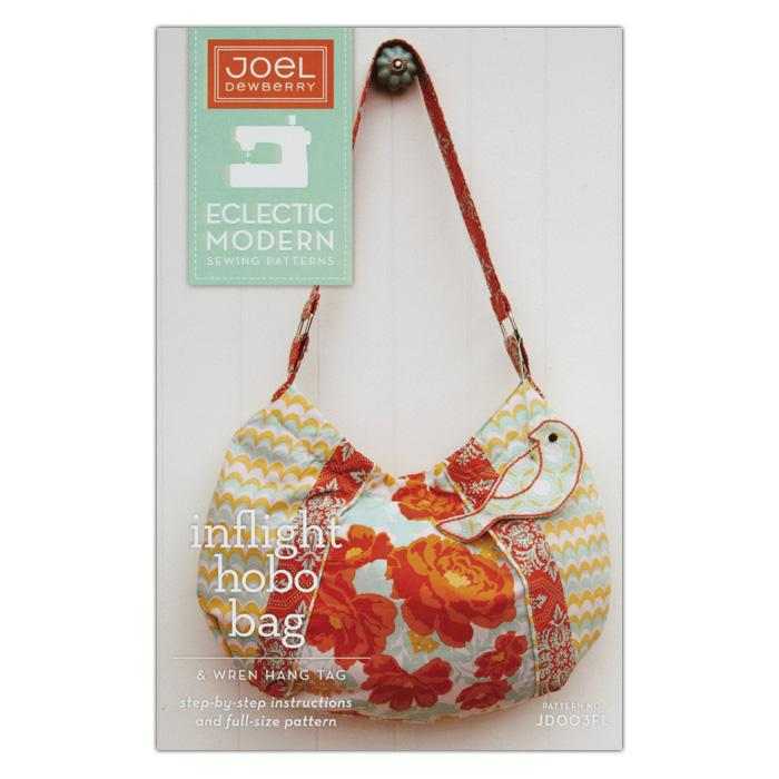 Joel Dewberry Inflight Hobo Bag Pattern