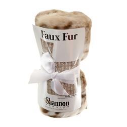 Luxury Faux Fur Sadie Pillow Kit Beige