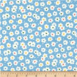 Moda Fresh Air Spiky Flower Light Blue
