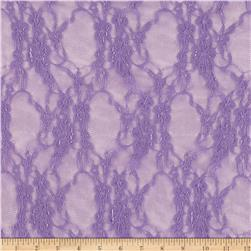 Giselle Stretch Floral Lace Lavender