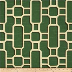 Home Accents Mandarin Slub Emerald Fabric