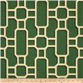 Home Accents Mandarin Slub Emerald
