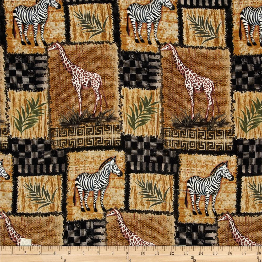 Out of Africa Animal Block Natural