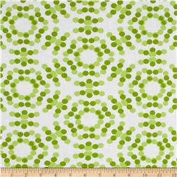 108'' Spot On Quilt Backs Circle Dots Green