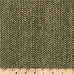 48'' Chevron Burlap Natural/Hunter