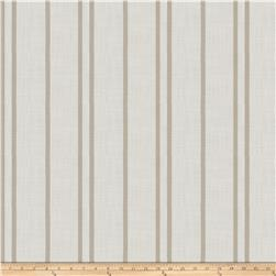 Trend 03649 Linen Blend Satin Stripe Chrome